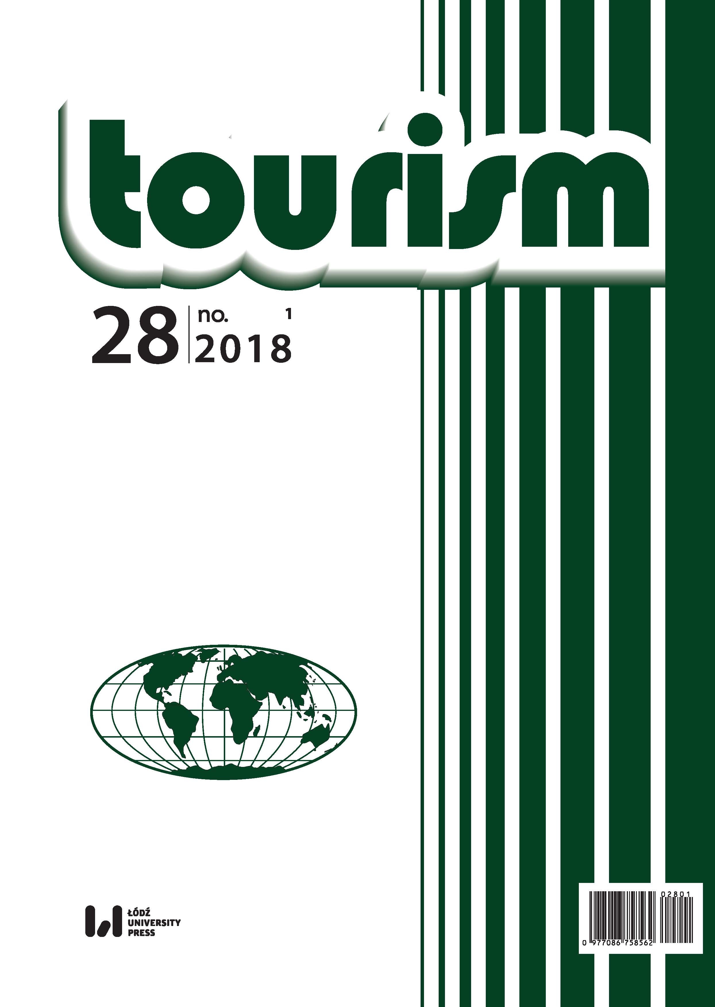 A METHODOLOGY FOR CALCULATING INDIVIDUAL INDICATORS OF TOURISM ACTIVITY