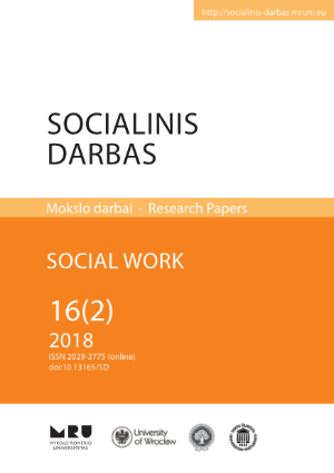 THE MOTIVATION FOR THE PERFORMANCE OF SOCIAL WORK IN THE CONTEXT OF PERSONAL SKILLS AND ABILITIES OF SOCIAL WORKERS ACTIVE IN PUBLIC ADMINISTRATION Cover Image