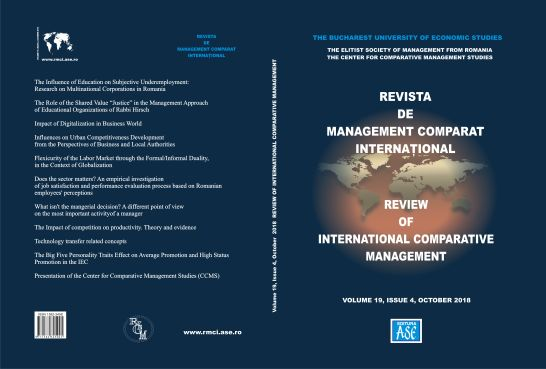 The Influence of Education on Subjective Underemployment: Research on Multinational Corporations in Romania