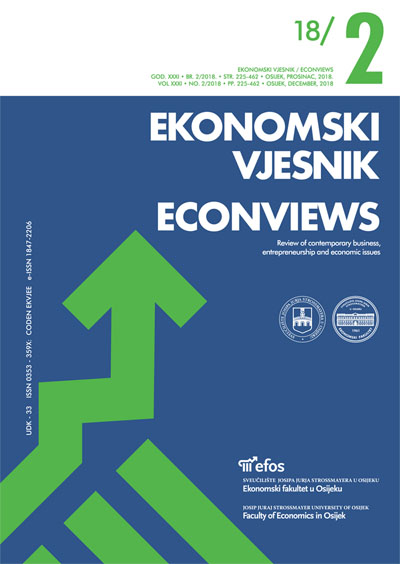 The scientific productivity of Croatian economics and business educational institutions: Relation of size and productivity
