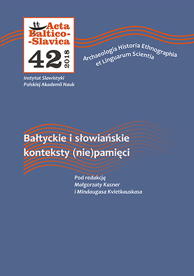 At the peripheries of memory: (Non-)memory about the past of Slovak Hungarians in twenty-first-century Slovak literature Cover Image