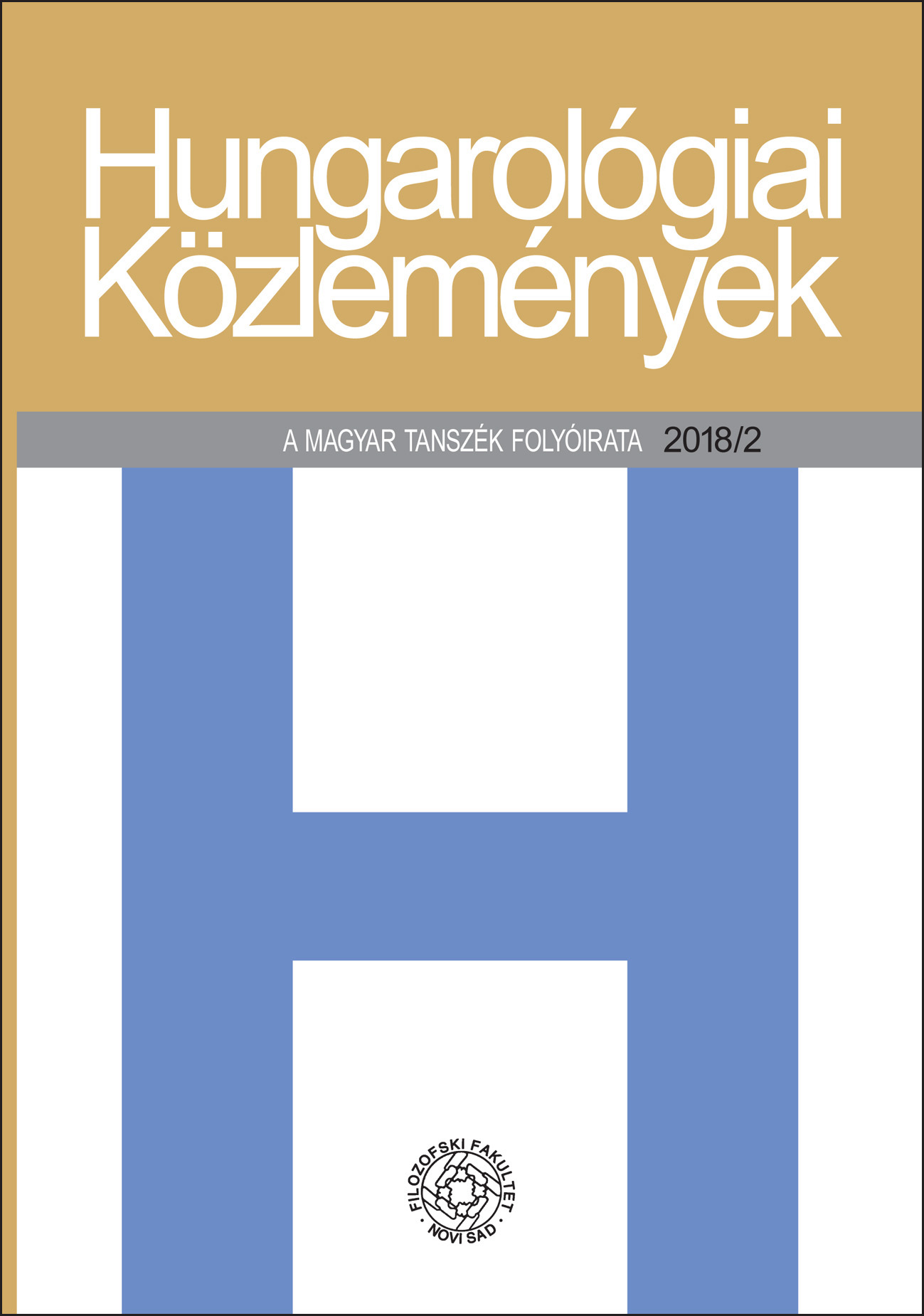 Analysis of the Structure of Entry Words in the Hungarian-Serbian Dictionary in the Making Cover Image