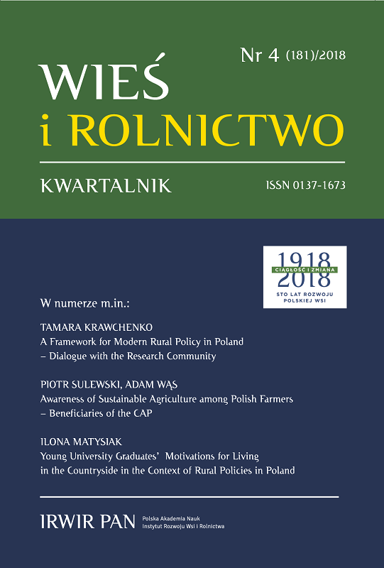 A Framework for Modern Rural Policy in Poland – Dialogue with the Research Community