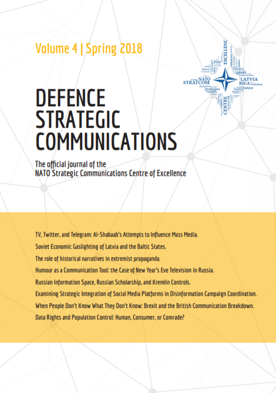EXAMINING STRATEGIC INTEGRATION OF SOCIAL MEDIA PLATFORMS IN DISINFORMATION CAMPAIGN COORDINATION Cover Image