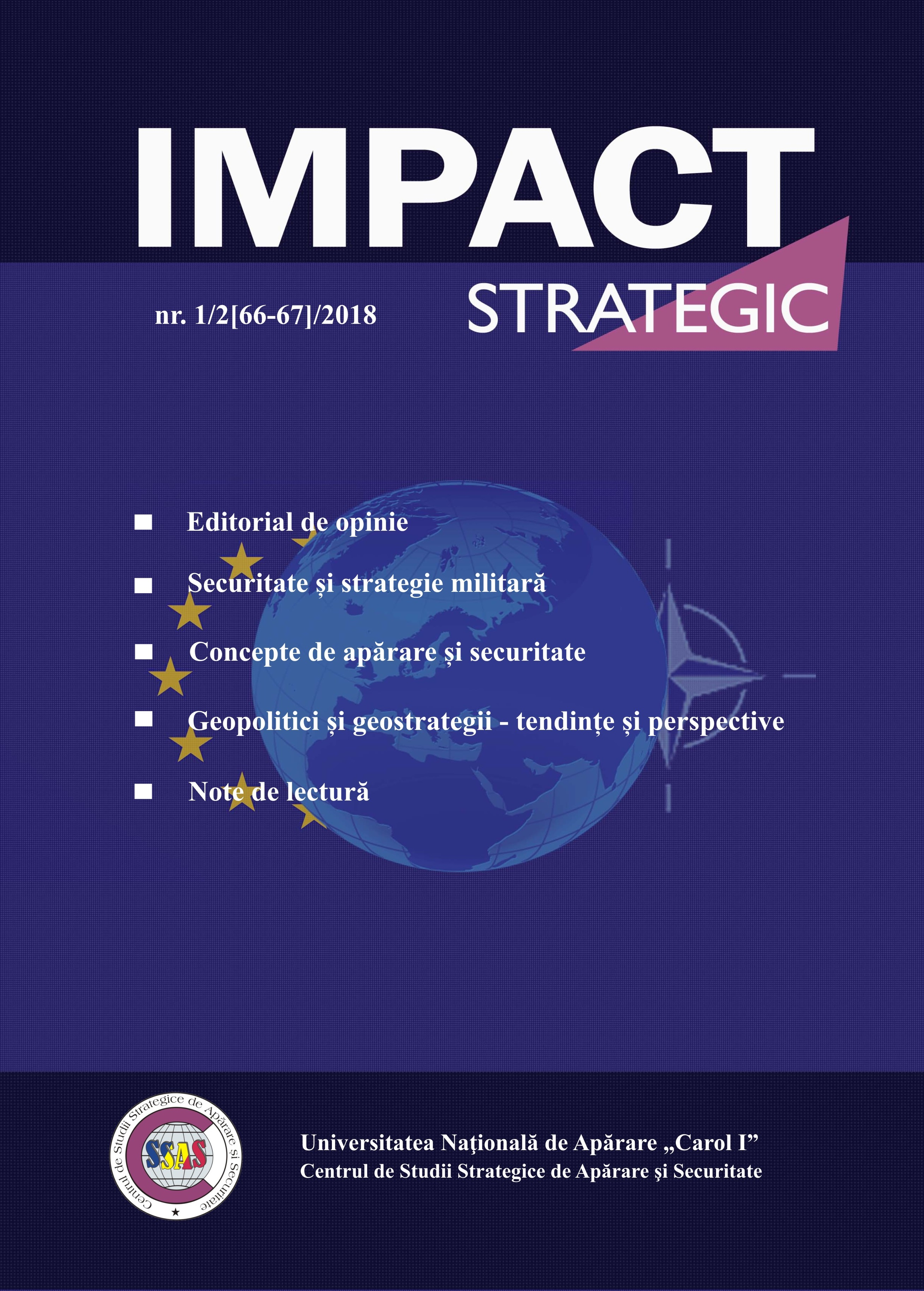 CAN FORECASTING AMELIORATE THE NEGATIVE IMPACT OF HYBRID THREATS? Cover Image