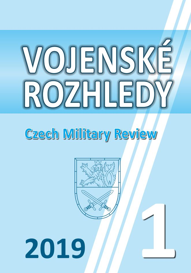 Realisation of Strategic Analysis from the Point of View of Strategic Documents Elaborators in the Czech Armed Forces Cover Image
