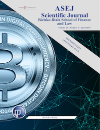 Blockchain technology and cryptocurrencies - legal and tax aspects Cover Image