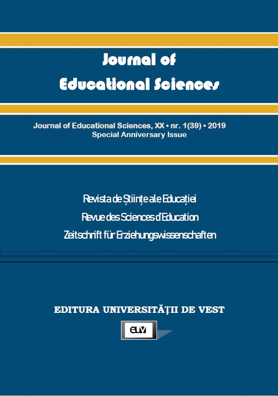20 years celebrated by the Journal of Educational Sciences