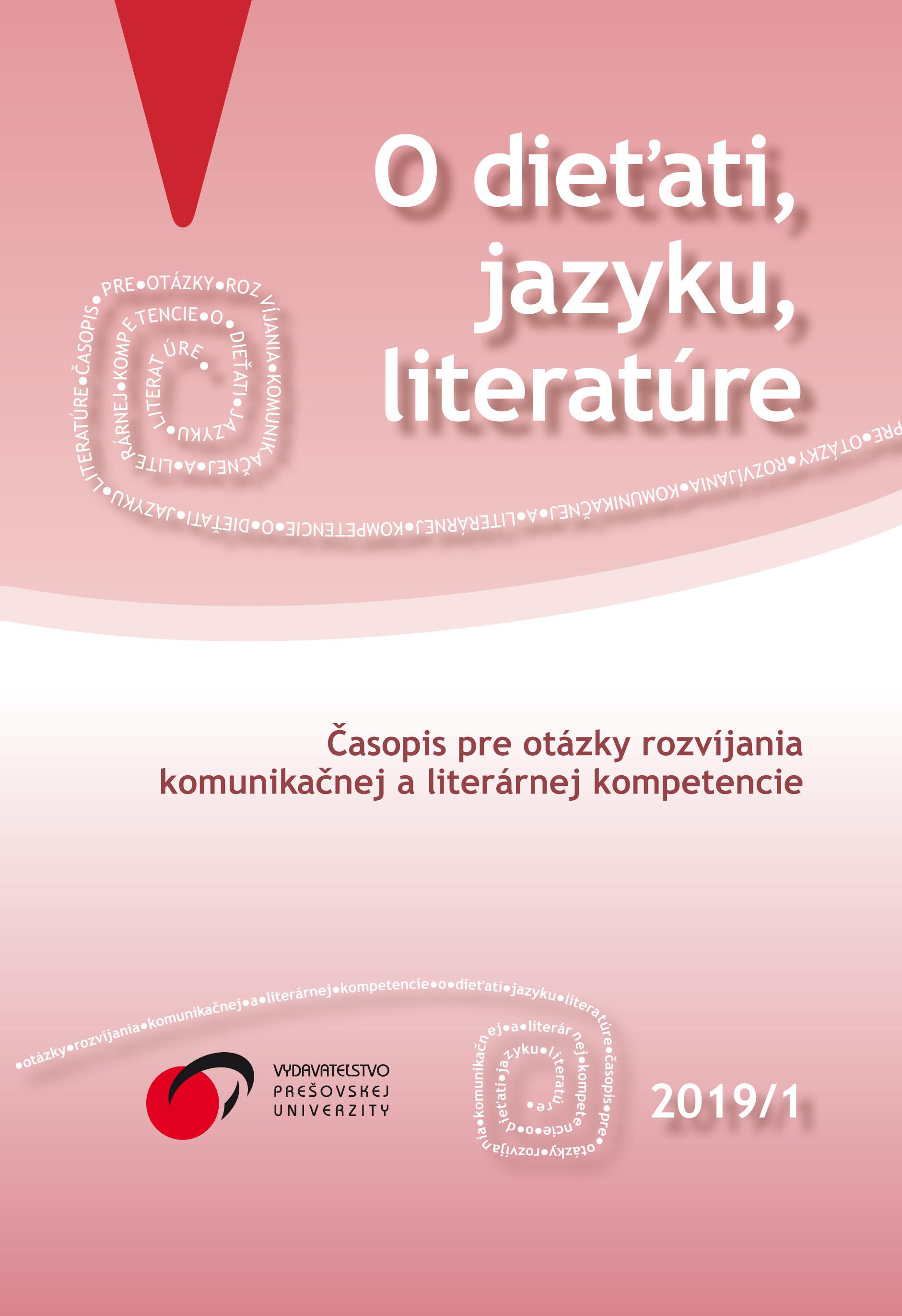 Communicative approach (not only) in Czech teaching/learning Cover Image