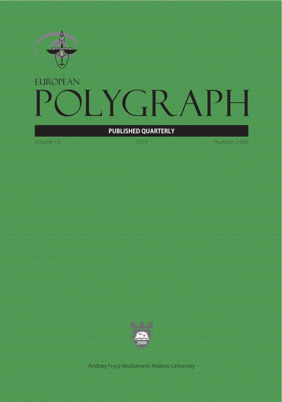 A Polygraph-Assisted Psychological Assessment of Risk of Sexual Harm Posed by a Priest Cover Image