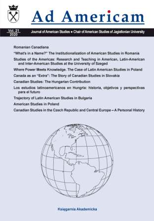 """What's in a Name?"" The Institutionalization of American Studies in Romania Cover Image"