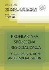 Academic Journal of the Institute of Social Prevention and Resocialisation of the University of Warsaw Cover Image