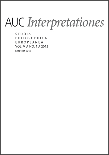 Acta Universitatis Carolinae Interpretationes Cover Image