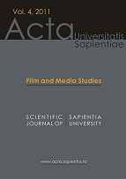 Acta Universitatis Sapientiae, Film and Media Studies Cover Image