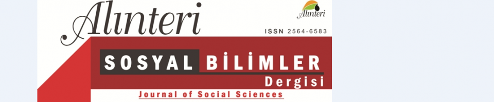 Alınteri Journal of Social Sciences Cover Image