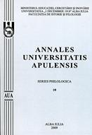 Annals of the University of Alba Iulia - Series Philology Cover Image