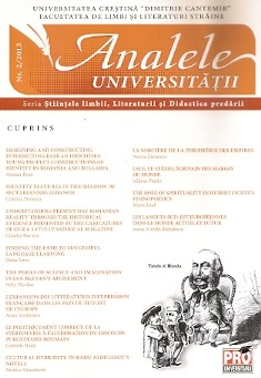 Annals of Dimitrie Cantemir Christian University- Linguistics, Literature Cover Image