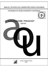 Annals of Ovidius University Constanta - Philology Cover Image