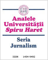 Annals of Spiru Haret University. Journalism Studies Cover Image