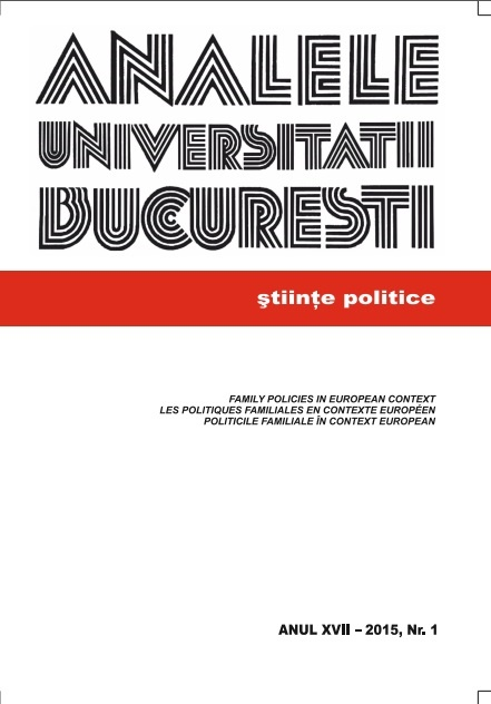 Annals of the University of Bucharest. Political Science Series Cover Image