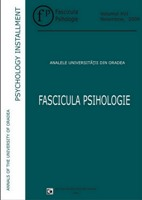 Annals of the University of Oradea. Psychology Series Cover Image