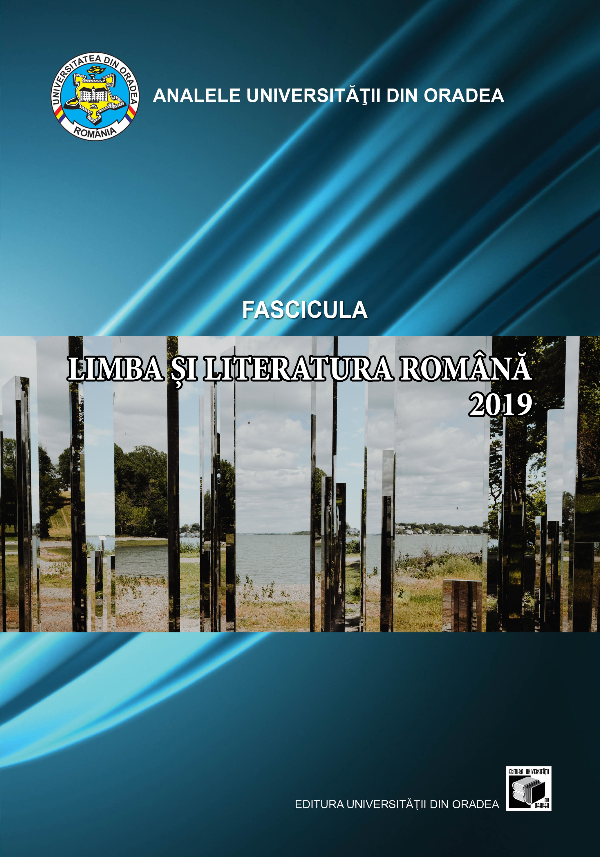 Annals of the University of Oradea Romanian Language and Literature  (ALLRO) Cover Image