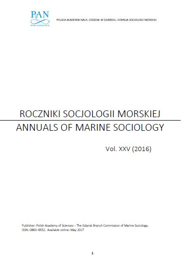 Annuals of Marine Sociology Cover Image