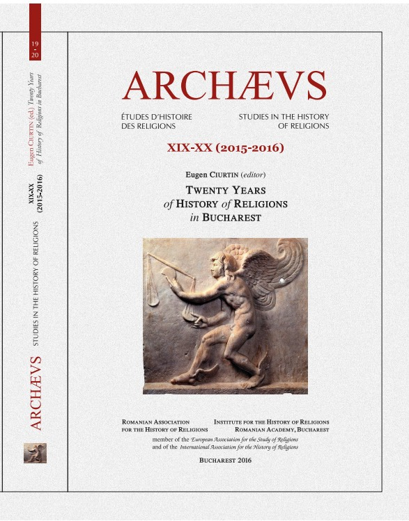 ARCHÆVS. Studies in the History of Religions