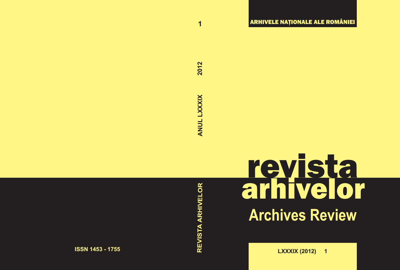 Archives Review Cover Image