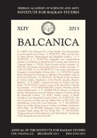 BALCANICA Cover Image