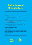 Baltic Journal of Economics