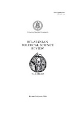 Belarusian Political Science Review Cover Image