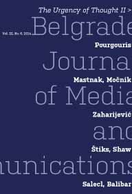 Belgrade Journal of Media and Communications Cover Image