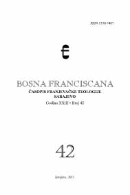 Bosna Franciscana Cover Image
