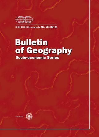 Bulletin of Geography. Socio-economic Series Cover Image