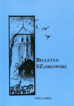 Bulletin of Szadek Cover Image