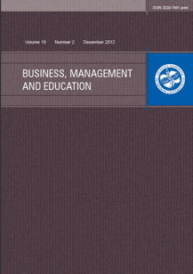Business, Management and Education