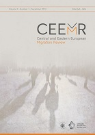 Central and Eastern European Migration Review