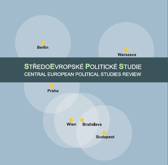 Central European Political Studies Review (CEPSR) Cover Image
