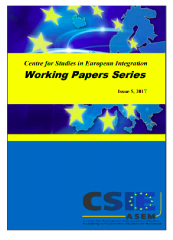 Centre for Studies in European Integration Working Papers Series Cover Image