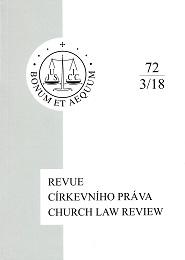 Church Law Review Cover Image