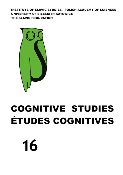 Cognitive Studies | Études cognitives Cover Image
