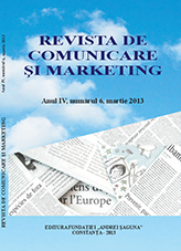 Comunications and Marketing Journal Cover Image