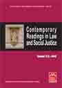 Contemporary Readings in Law and Social Justice