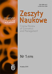 Cracow Review of Economics and Management Cover Image