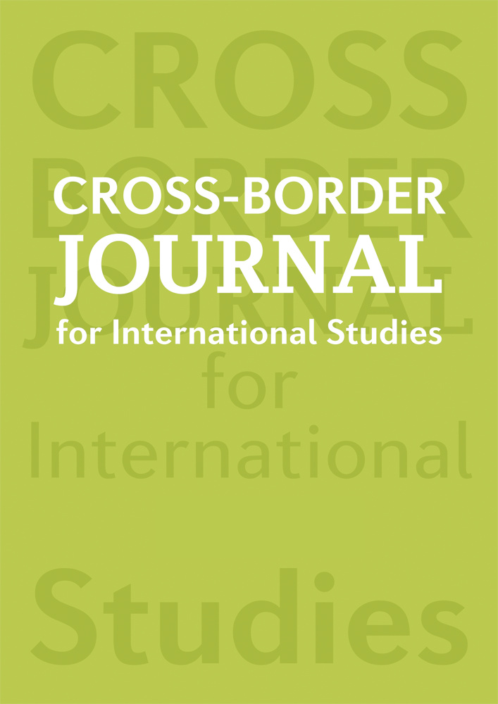 Cross Border Journal for International Studies Cover Image