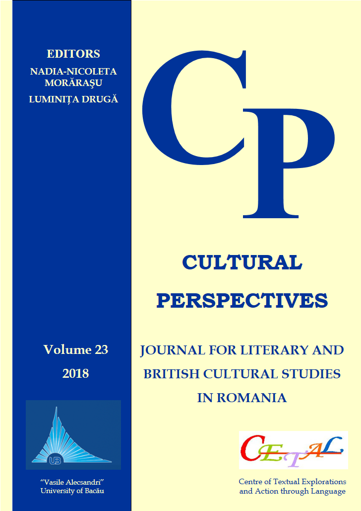 Cultural Perspectives - Journal for Literary and British Cultural Studies in Romania  Cover Image