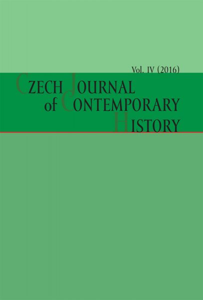Czech Journal of Contemporary History