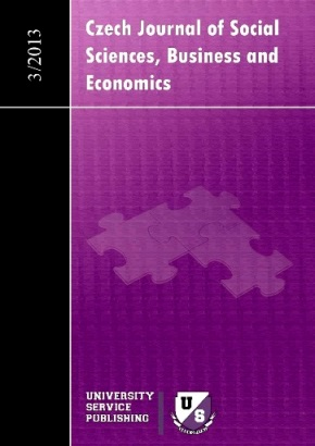 Czech Journal of Social Sciences Business and Economics Cover Image