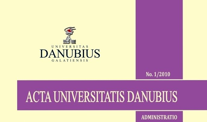 Danubius University Annals. Administration Cover Image